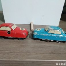 Coches a escala: 2 COCHES JOUEF PANAMERICAINE MADE IN FRANCE. Lote 179048602