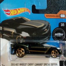 Coches a escala: HOT WHEELS 2013 CHEVY CAMARO SPECIAL EDITION. LOTE DTY97. COLECCION COCHES HOTWHEELS.. Lote 179185895
