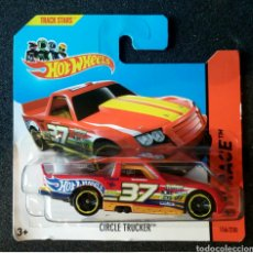 Coches a escala: HOT WHEELS CIRCLE TRUCKER. LOTE BFD29. COCHES COLECCIÓN HOTWHEELS. 2014. Lote 179318956