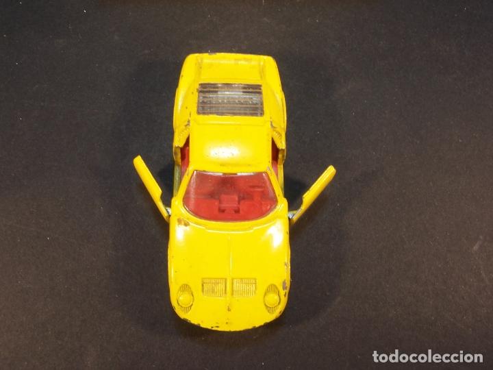 Coches a escala: Matchbox series. Nº 33. Lamborghini Miura. Made in England. 43 g. 7 cm. Estado 8 sobre 10. - Foto 4 - 179319387
