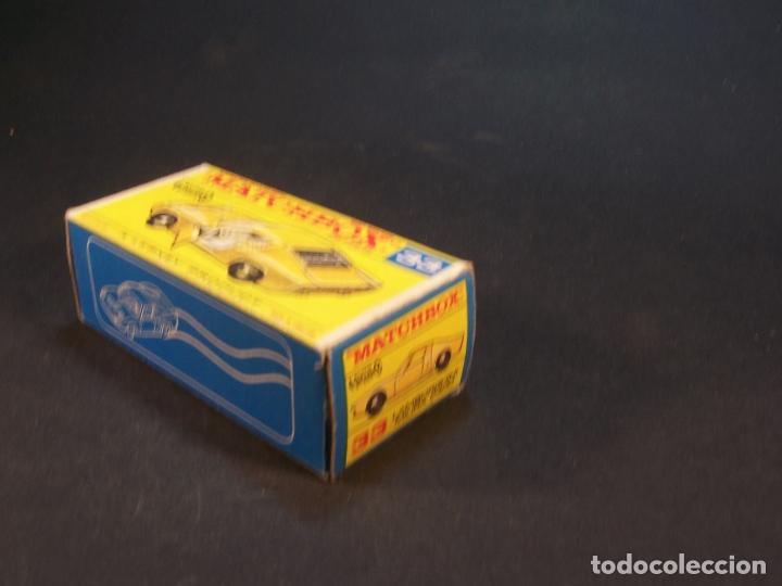 Coches a escala: Matchbox series. Nº 33. Lamborghini Miura. Made in England. 43 g. 7 cm. Estado 8 sobre 10. - Foto 7 - 179319387