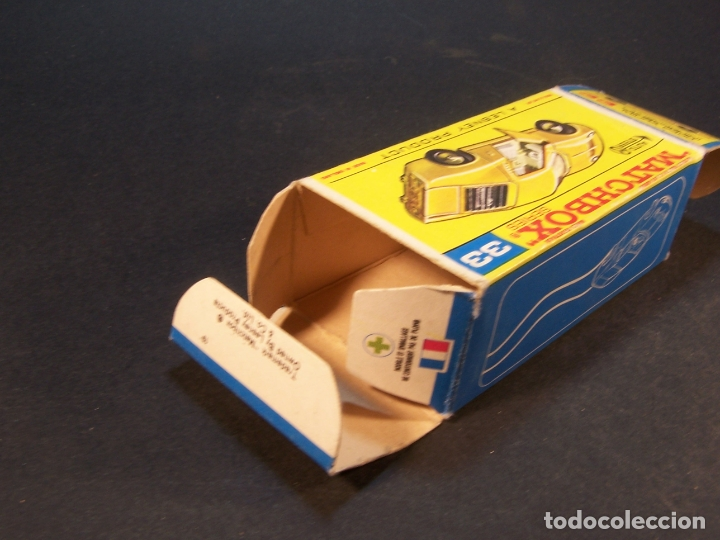 Coches a escala: Matchbox series. Nº 33. Lamborghini Miura. Made in England. 43 g. 7 cm. Estado 8 sobre 10. - Foto 10 - 179319387