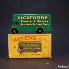 Coches a escala: MATCHBOX SERIES. Nº 46. PICKFORD REMOVAL VAN. MADE IN ENGLAND. 28 G. 6,5 CM. ESTADO 9 SOBRE 10. . Lote 179328583