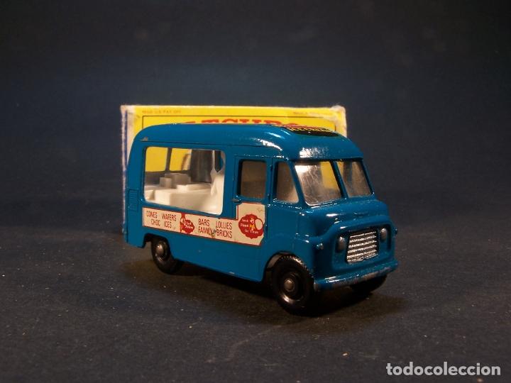 Coches a escala: Matchbox series. Nº 47. Commer ice cream canteen. Made in England 35 g. 6 cm. Estado 9 sobre 10. - Foto 3 - 179329033