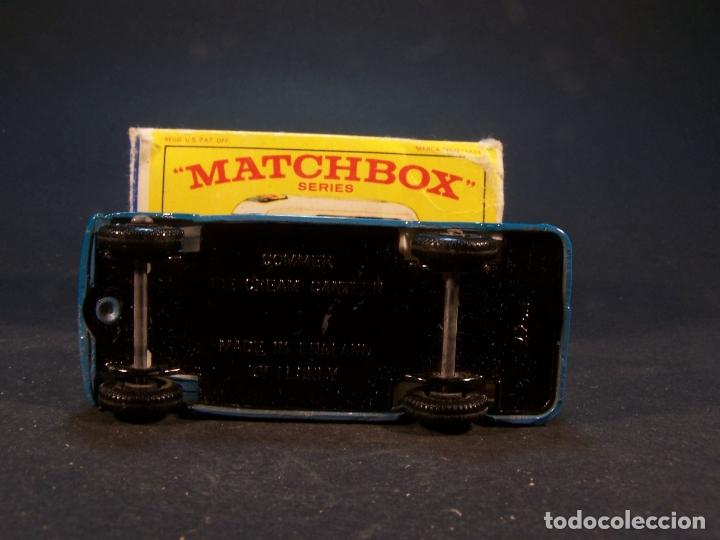 Coches a escala: Matchbox series. Nº 47. Commer ice cream canteen. Made in England 35 g. 6 cm. Estado 9 sobre 10. - Foto 7 - 179329033