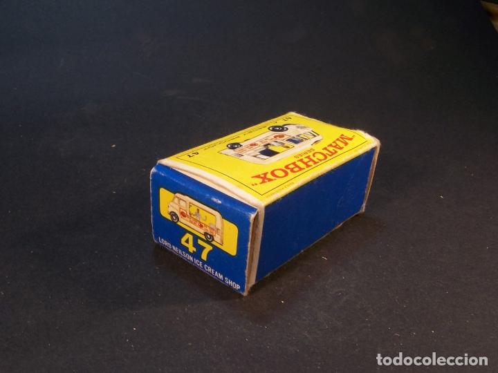 Coches a escala: Matchbox series. Nº 47. Commer ice cream canteen. Made in England 35 g. 6 cm. Estado 9 sobre 10. - Foto 9 - 179329033
