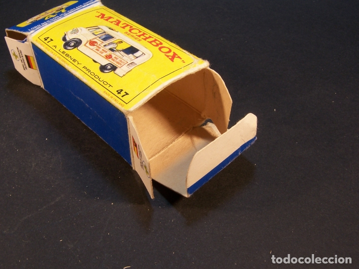Coches a escala: Matchbox series. Nº 47. Commer ice cream canteen. Made in England 35 g. 6 cm. Estado 9 sobre 10. - Foto 10 - 179329033