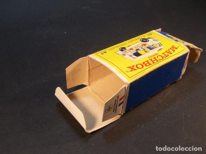 Coches a escala: Matchbox series. Nº 47. Commer ice cream canteen. Made in England 35 g. 6 cm. Estado 9 sobre 10. - Foto 11 - 179329033