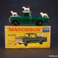 Coches a escala: MATCHBOX SERIES. Nº 50. KENNEL TRUCK. MADE IN ENGLAND. 46 G. 7 CM. ESTADO 7 SOBRE 10. . Lote 179329740