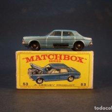 Coches a escala: MATCHBOX SERIES. Nº 53. FORD ZODIAK MK. IV. MADE I ENGLAND. 46 G. 7 CM. ESTADO 7 SOBRE 10.. Lote 179542866