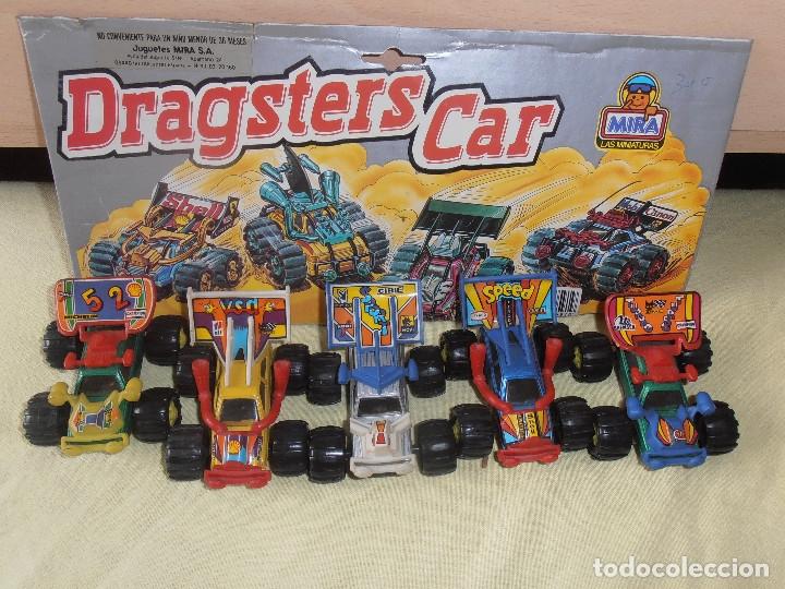 4 DRAGSTER CAR -MIRA - LAS MINIATURAS (Juguetes - Coches a Escala Otras Escalas )