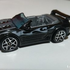 Auto in scala: HOT WHEELS MITSUBISHI ECLIPSE 1/64. Lote 180036545