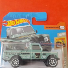 Coches a escala: HOT WHEELS LAND ROVER SERIES III PICKUP. Lote 180102436