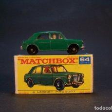 Coches a escala: MATCHBOX SERIES. Nº 64. MG 1100. MADE IN ENGLAND. 35 G. 6 CM. ESTADO 9 SOBRE 10.. Lote 180238361