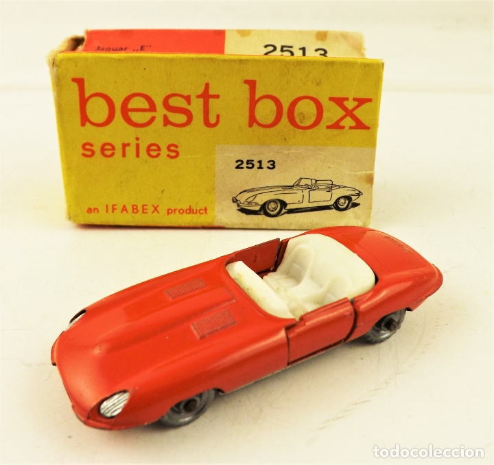 BEST BOX 2513 JAGUAR E.TYPE (Juguetes - Coches a Escala Otras Escalas )