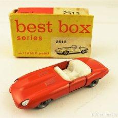 Coches a escala: BEST BOX 2513 JAGUAR E.TYPE. Lote 180452306