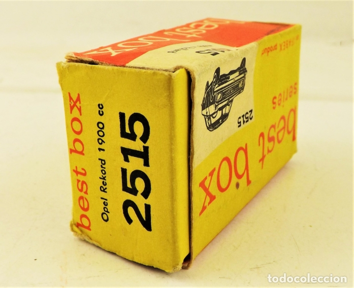 Coches a escala: Best Box 2515 Opel Rekord 1900 - Foto 6 - 180452835