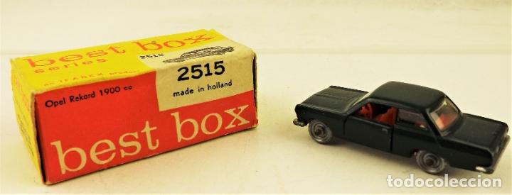 BEST BOX 2515 OPEL REKORD 1900 (Juguetes - Coches a Escala Otras Escalas )