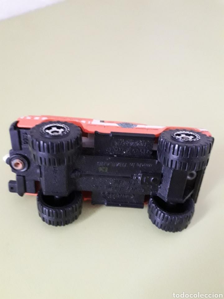 Coches a escala: Chevy Blazer 4 X 4 Matchbox 1989 Naranja butano - Foto 4 - 180473747