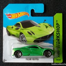 Coches a escala: HOT WHEELS PAGANI HUAYRA. LOTE BFD72. COCHES COLECCIÓN HOTWHEELS. 2014. Lote 180482797
