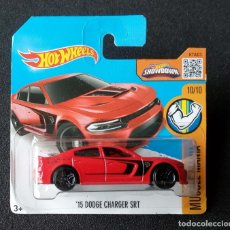 Coches a escala: HOT WHEELS 15 DODGE CHARGER SRT. LOTE DHP15. COCHES COLECCIÓN HOTWHEELS. 2016. Lote 180483248
