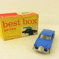 Coches a escala: BEST BOX 2516 MERCEDES BENZ 220 SE COUPÉ. Lote 180840102