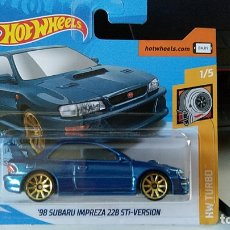 Auto in scala: HOT WHEELS SUBARU IMPREZA 22B STI-VERSION 1998. Lote 181135560