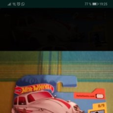 Coches a escala: HOT WHEELS - VOLKSWAGEN BEETLE. Lote 181526697
