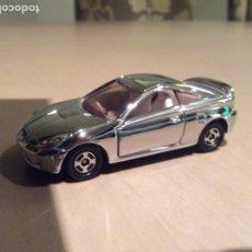 Carros em escala: COCHE TOYOTA CELICA CROMADO MARCA TOMICA ESCALA 1/60. Lote 181759937
