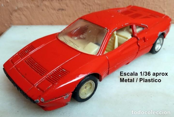 MC TOY FERRARI 288 GTO (Juguetes - Coches a Escala Otras Escalas )