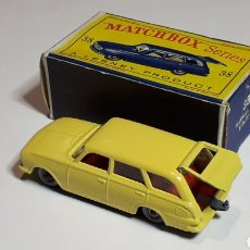 Coches a escala: VAUXHALL VICTOR ESTATE CAR REF. 38, MIDE 6,5 CMS. LESNEY MATCHBOX ENGLAND, ORIGINAL AÑO 1963.. Lote 182126797