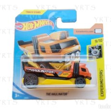 Coches a escala: HOT WHEELS THE HAULINATOR SCALE 1:64 METAL ¡NEW!. Lote 182380593
