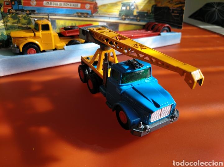 Coches a escala: GUISVAL AUTO MODEL CAMIÓN CON GRÚA, REF 151, AÑOS 60-70 escala 1/64 - Foto 6 - 182463506