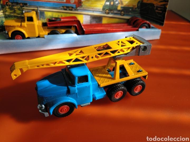 Coches a escala: GUISVAL AUTO MODEL CAMIÓN CON GRÚA, REF 151, AÑOS 60-70 escala 1/64 - Foto 7 - 182463506