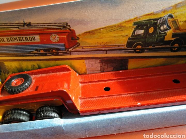 Coches a escala: GUISVAL AUTO MODEL CAMIÓN CON GRÚA, REF 151, AÑOS 60-70 escala 1/64 - Foto 12 - 182463506