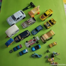 Coches a escala: LOTE COCHES GUISVAL PILEN MIRA MATCHBOX CITROEN JEEP WILLYS RENAULT PEUGEOT. Lote 182483318