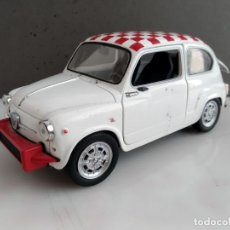 Coches a escala: ANTIGUO COCHE DE SOLIDO ESCALA 1/18 FIAT ABATH 850 TC (SEAT 600). Lote 242023330
