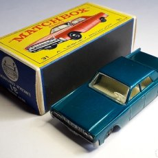Coches a escala: LINCOLN CONTINENTAL REF. 31, MIDE 7,3 CMS. LESNEY MATCHBOX ENGLAND, ORIGINAL AÑO 1964.. Lote 182667220