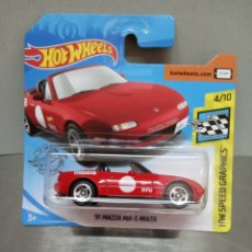Coches a escala: HOT WHEELS MAZDA MX5 MIATA 1991. Lote 194371487