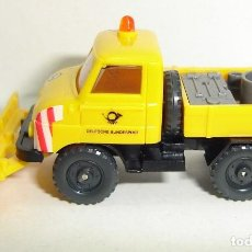 Coches a escala: CAMION UNIMOG QUITANIEVES WIKING ESCALA 1:87. Lote 183591465