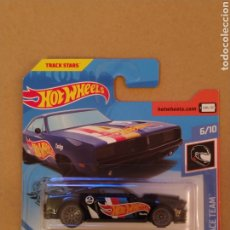Coches a escala: ¡¡¡ ERROR !!! HOT WHEELS -ERROR FABRICA- FORD SHELBY GT500 EN CAJA DODGE CHARGER. Lote 183605316