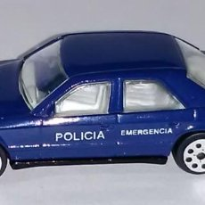 Coches a escala: LOTE COCHE DE METAL - POLIGURI - COCHE DE POLICIA MERCEDES 200 - MADE IN PORTUGAL - SCL. 1/62. Lote 183887042