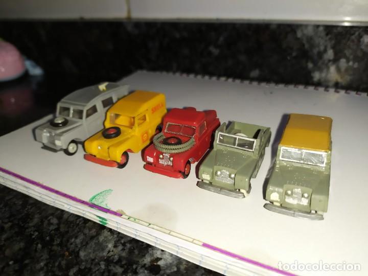 Coches a escala: mini cars anguplast eko norev joyas miniatura escala 1:86 serie land Rover 4x4 todoterreno - Foto 2 - 184188070