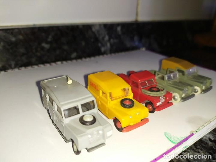Coches a escala: mini cars anguplast eko norev joyas miniatura escala 1:86 serie land Rover 4x4 todoterreno - Foto 3 - 184188070
