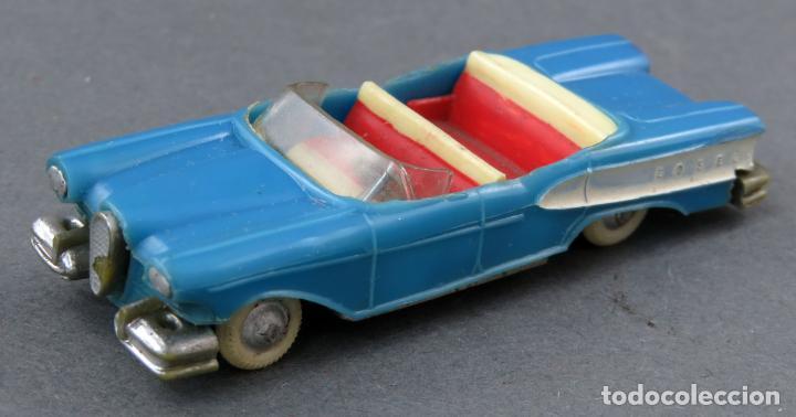 FORD EDSEL ANGUPLAS MINI CARS Nº 7 AZUL DESCAPOTABLE MADE IN SPAIN 1/86 AÑOS 60 (Juguetes - Coches a Escala Otras Escalas )