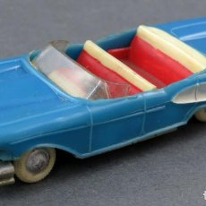 Coches a escala: FORD EDSEL ANGUPLAS MINI CARS Nº 7 AZUL DESCAPOTABLE MADE IN SPAIN 1/86 AÑOS 60. Lote 185713013