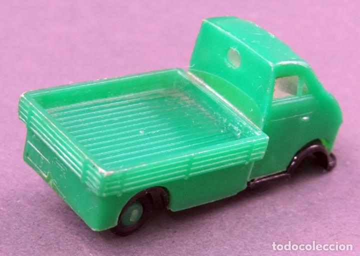 Coches a escala: DKW Camioneta Anguplas Mini Cars verde pick up Made in Spain 1/86 años 60 - Foto 2 - 185713393