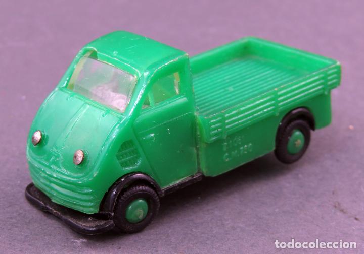 DKW CAMIONETA ANGUPLAS MINI CARS VERDE PICK UP MADE IN SPAIN 1/86 AÑOS 60 (Juguetes - Coches a Escala Otras Escalas )