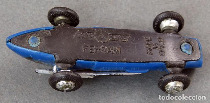 Coches a escala: Ferrari Anguplas Mini Cars nº 44 Made in Spain 1/86 años 60 - Foto 3 - 185713602