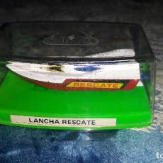 Coches a escala: GUISVAL- LANCHA RESCATE- CON BASE VERDE-AÑOS 80. Lote 186105858